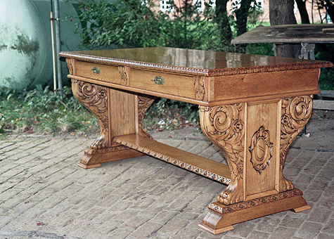 Schreibtisch restaurieren - Mobel restaurieren anleitung ...